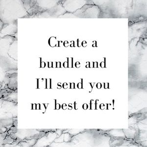 Accessories - Create a Bundle!